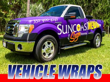 Vehicle Wraps Citrus County Florida